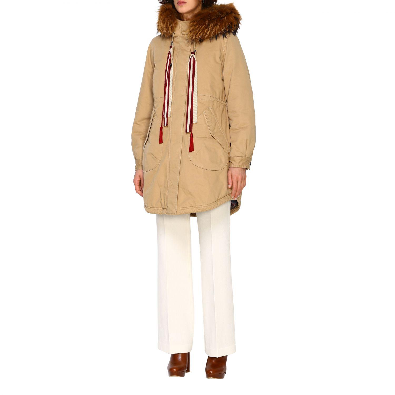 Abrigo mujer Alessandra Chamonix beige 4