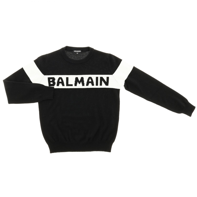 Jumper Balmain: Jumper kids Balmain black 1