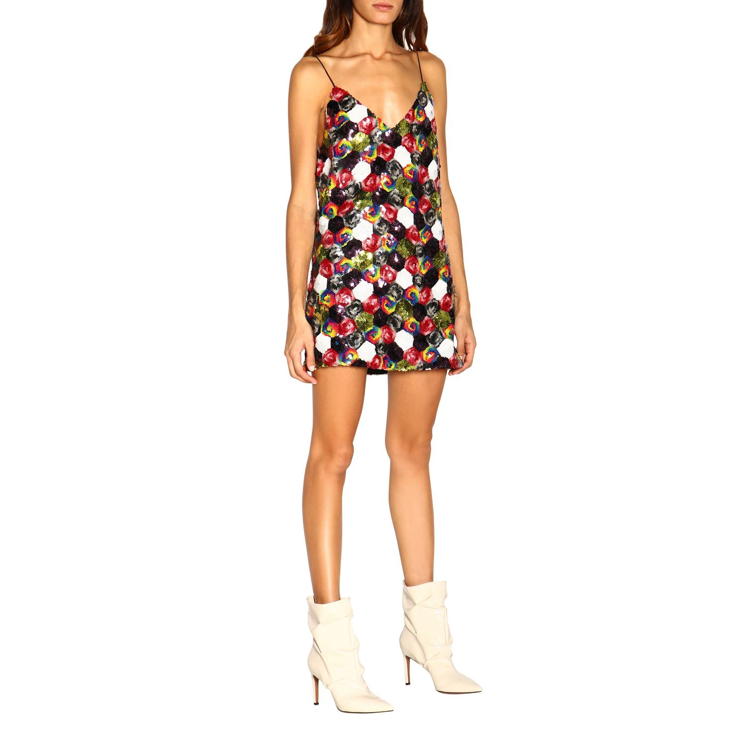 Robes femme Rotate multicolore 1