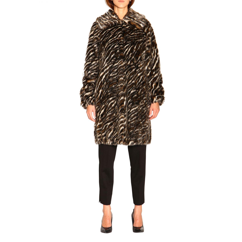 Fur coats women Michael Michael Kors multicolor 1