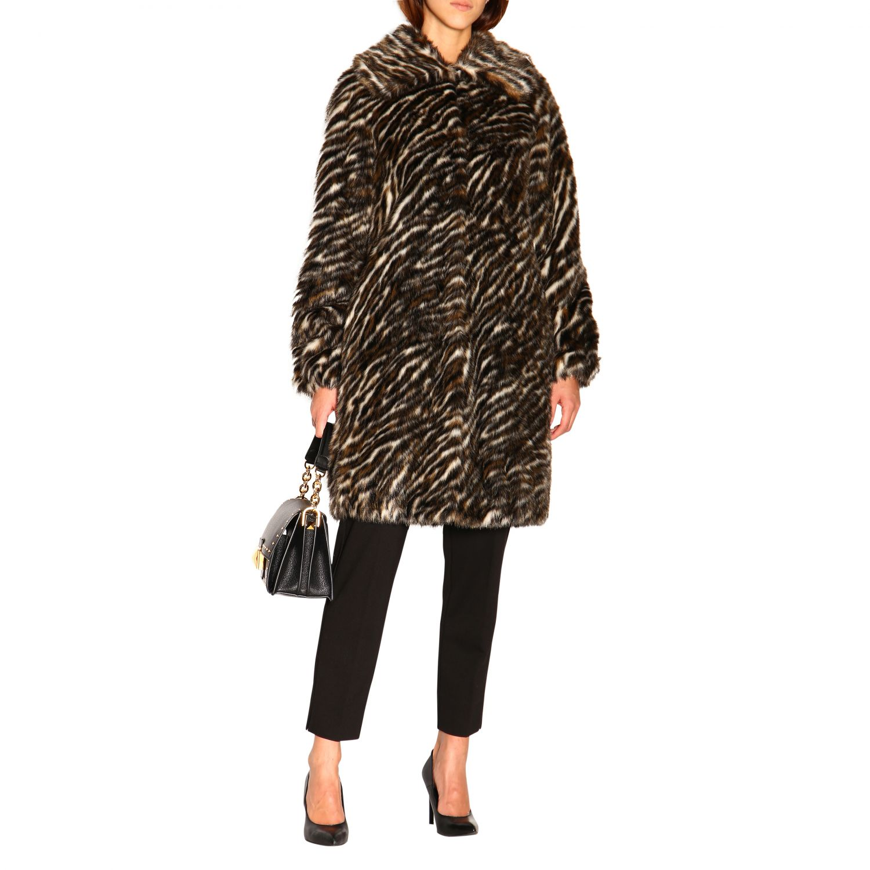 Fur coats women Michael Michael Kors multicolor 2