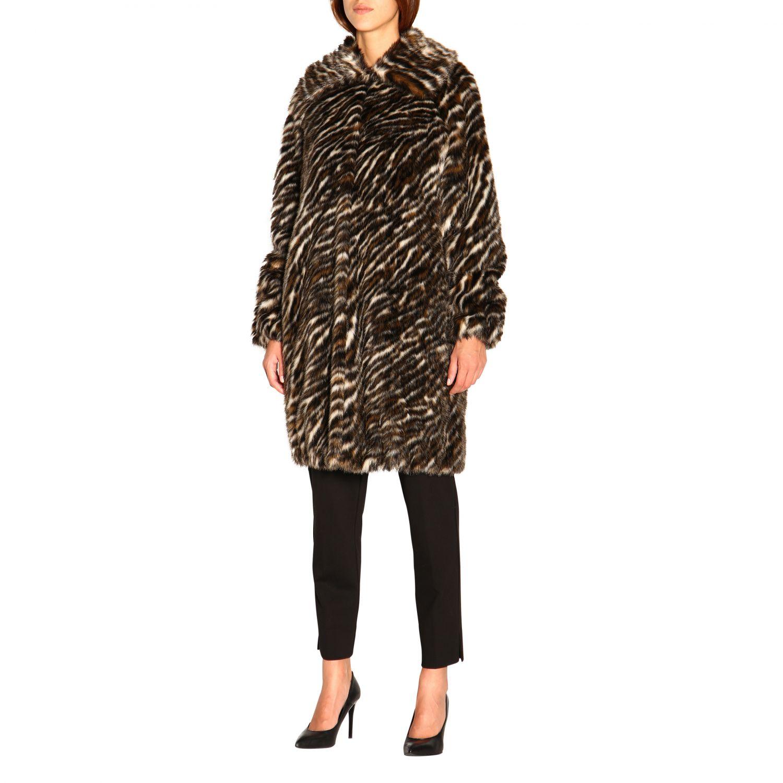 Fur coats women Michael Michael Kors multicolor 4