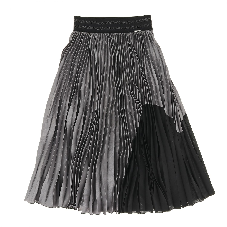 Skirt kids Loredana grey 1