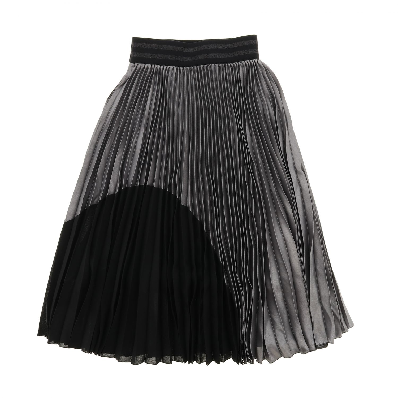 Skirt kids Loredana grey 2