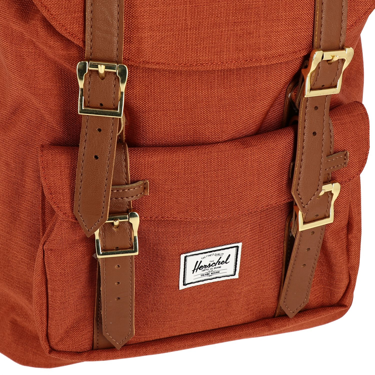 Zaino Herschel Supply Co.: Zaino Herschel Supply Co. in tela con multi fibbie ruggine 4