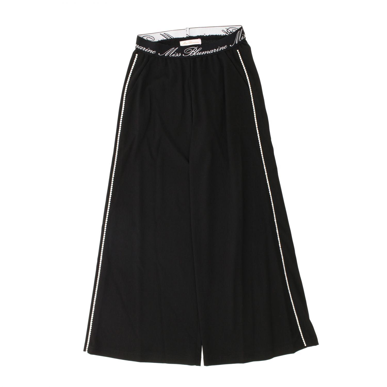 Pants kids Miss Blumarine black 1