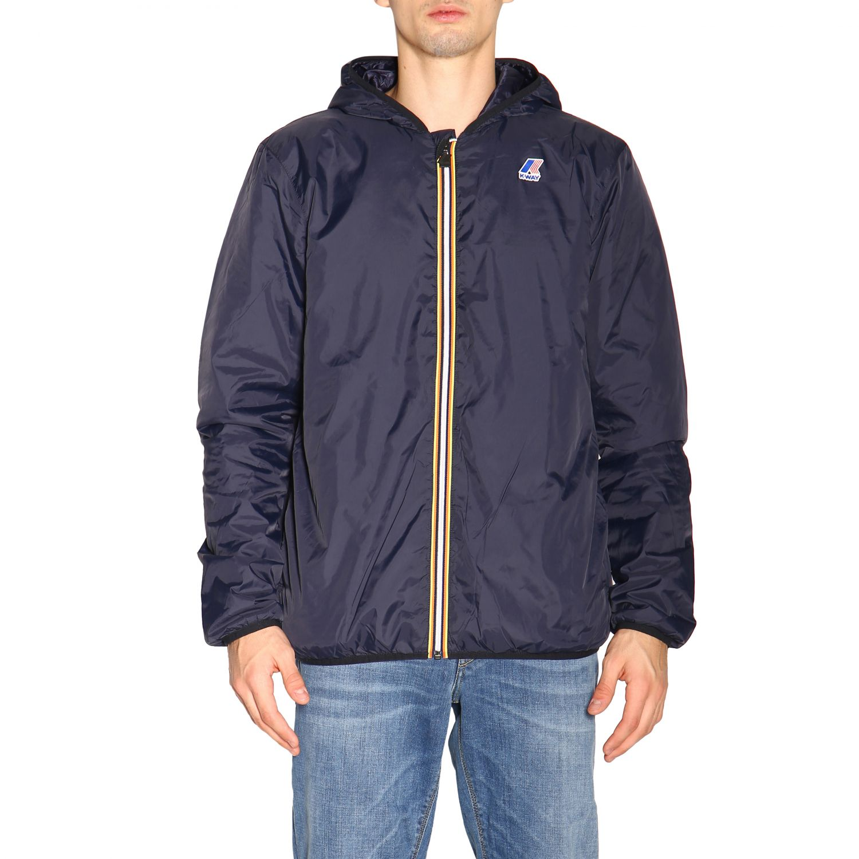 Jacket men K-way blue 1