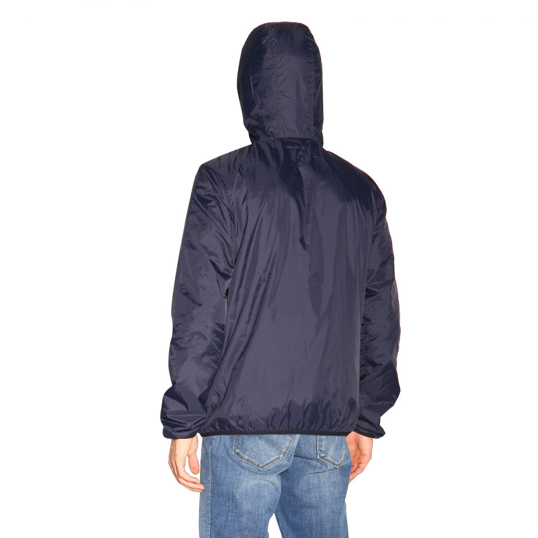 Jacket men K-way blue 3