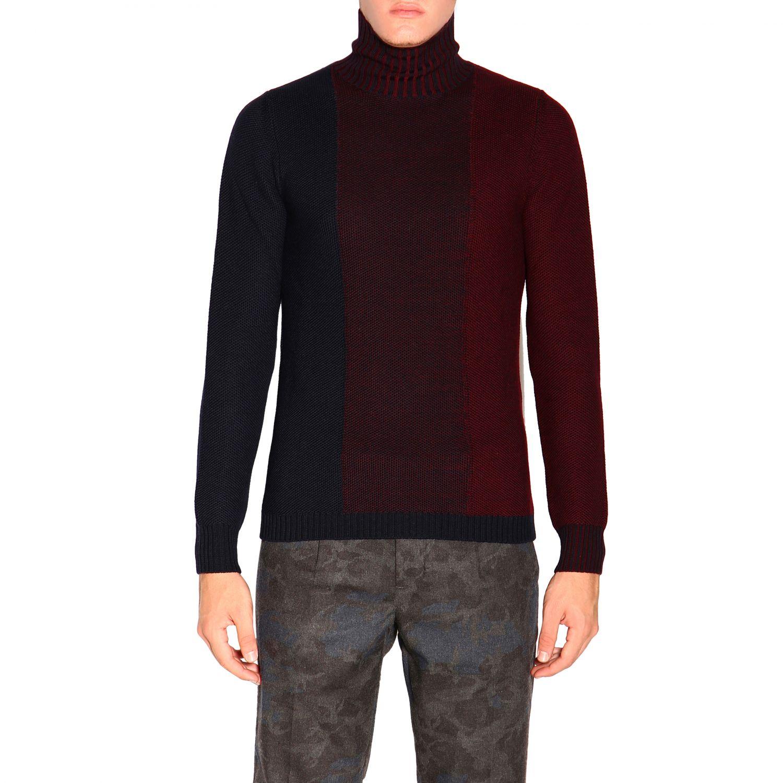 Sweater Alpha Studio: Sweater men Alpha Studio navy 1