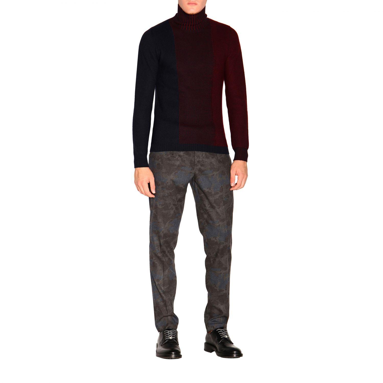 Sweater Alpha Studio: Sweater men Alpha Studio navy 2