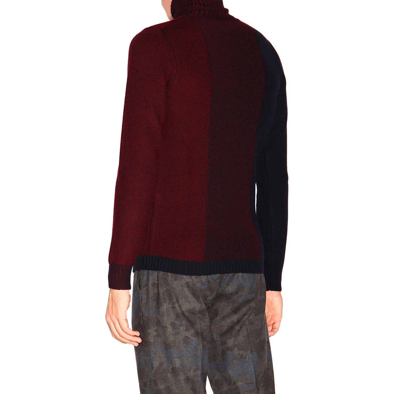Sweater Alpha Studio: Sweater men Alpha Studio navy 3