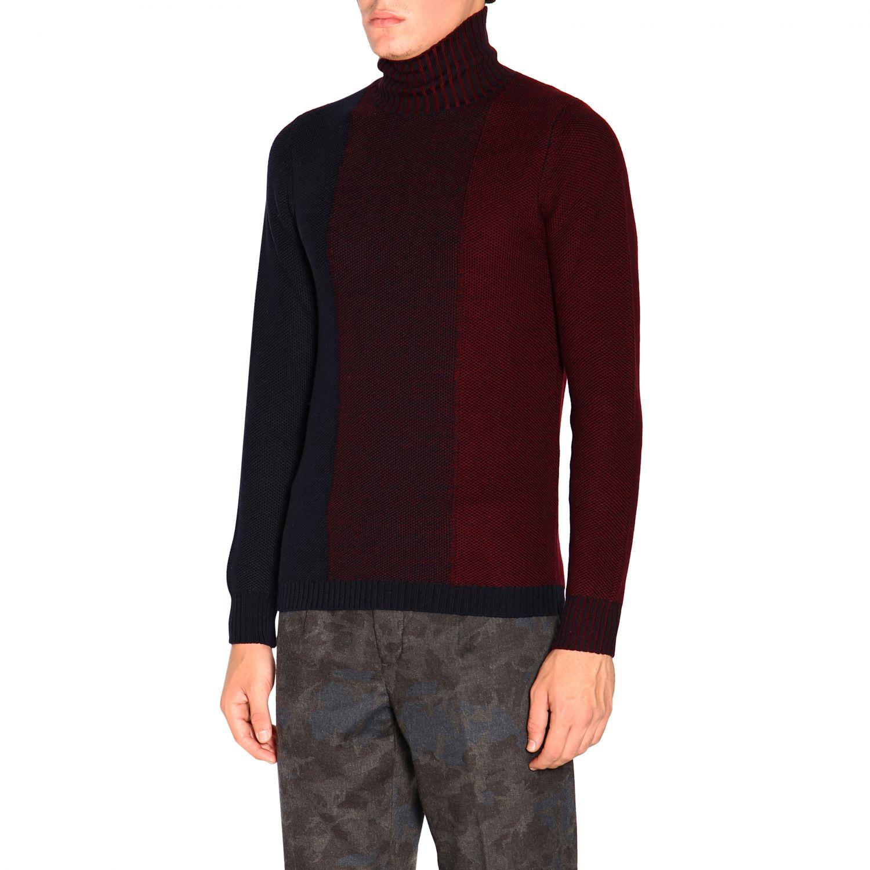 Sweater Alpha Studio: Sweater men Alpha Studio navy 4