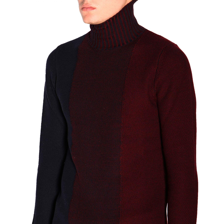 Sweater Alpha Studio: Sweater men Alpha Studio navy 5