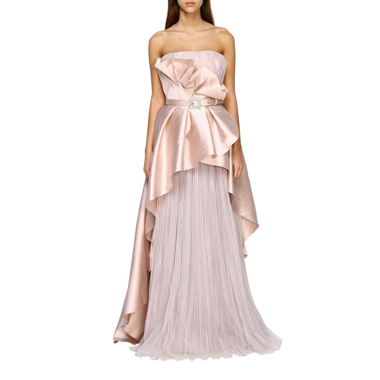 Vestido Alberta Ferretti: Vestido mujer Alberta Ferretti rosa 1