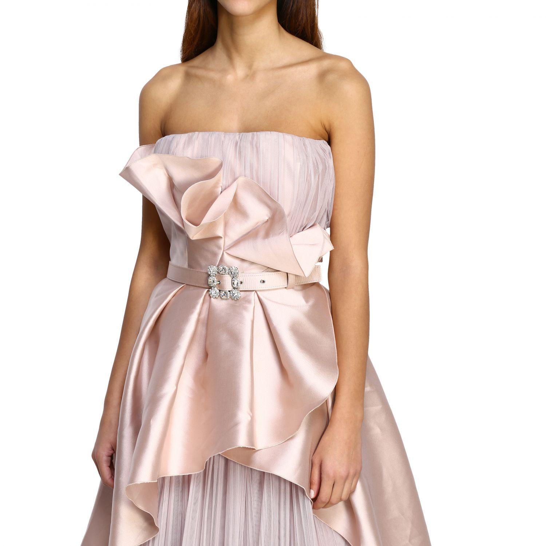 Vestido Alberta Ferretti: Vestido mujer Alberta Ferretti rosa 4