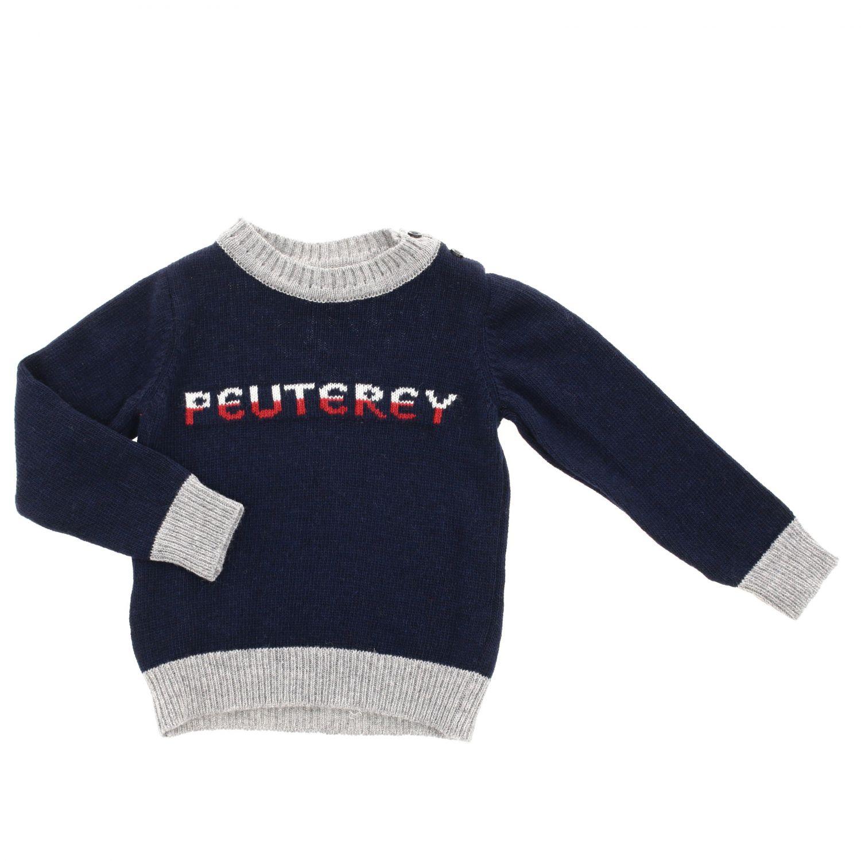 Jersey niños Peuterey azul oscuro 1