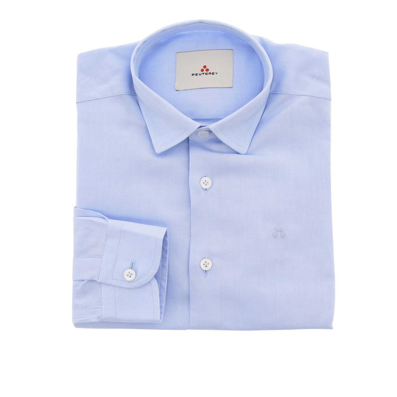 Chemise enfant Peuterey bleu ciel 1