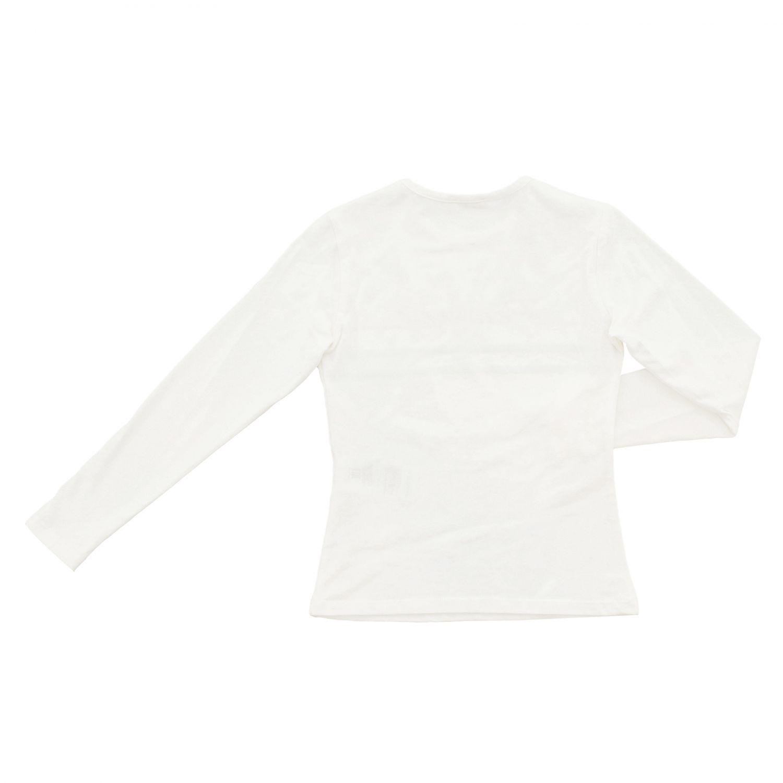 T-shirt Peuterey a maniche lunghe con stampa panna 2