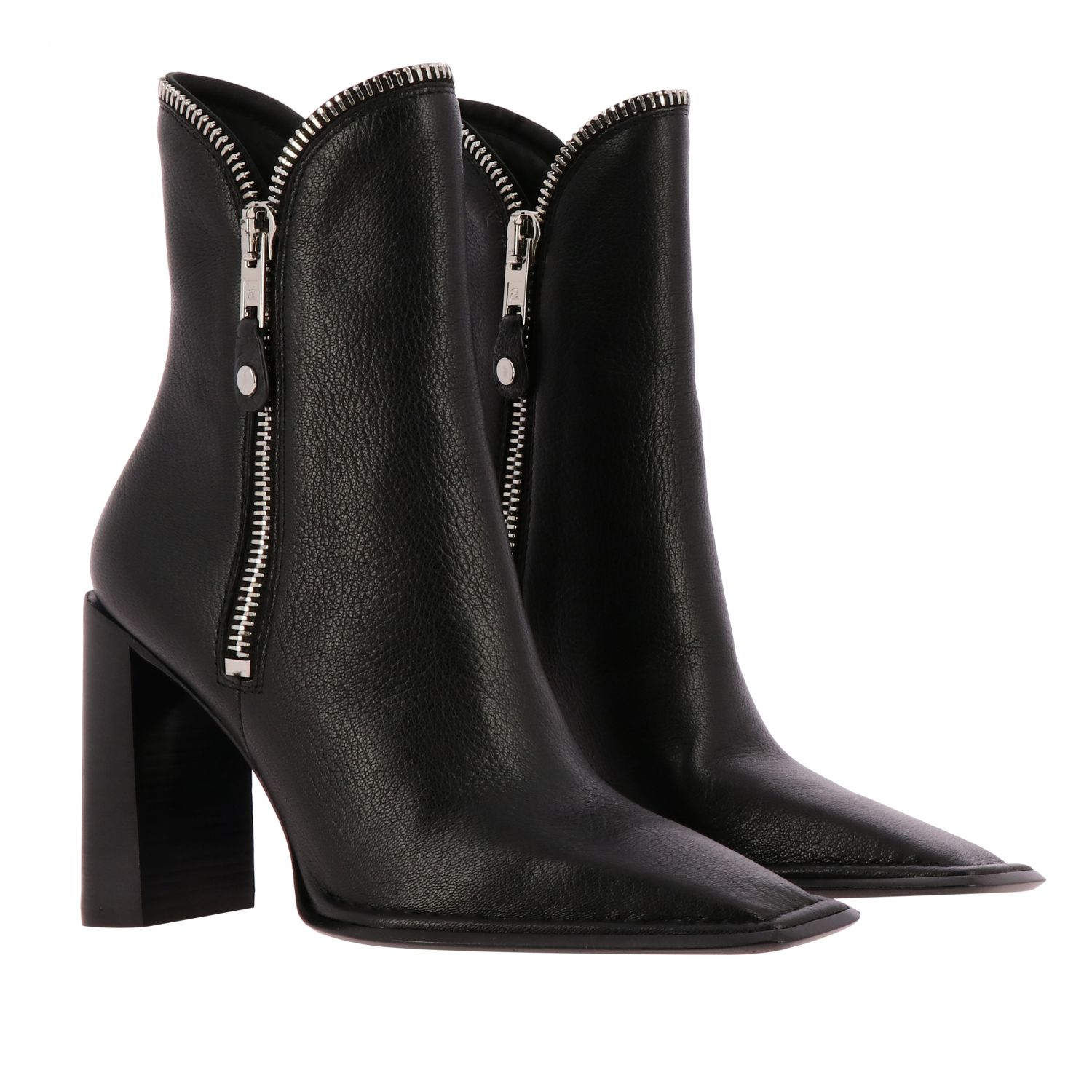 Heeled ankle boots women Alexander Wang black 2