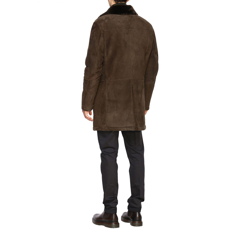 Mantel Corneliani: Jacke herren Corneliani grün 3