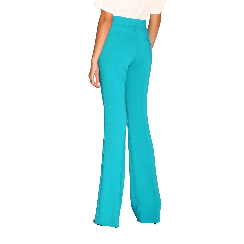 Pantalone donna Moschino Couture turchese 2