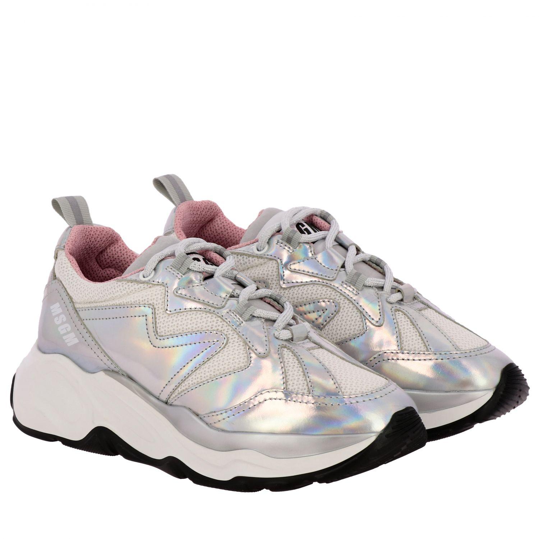 Спортивная обувь Женское Msgm серебро 2