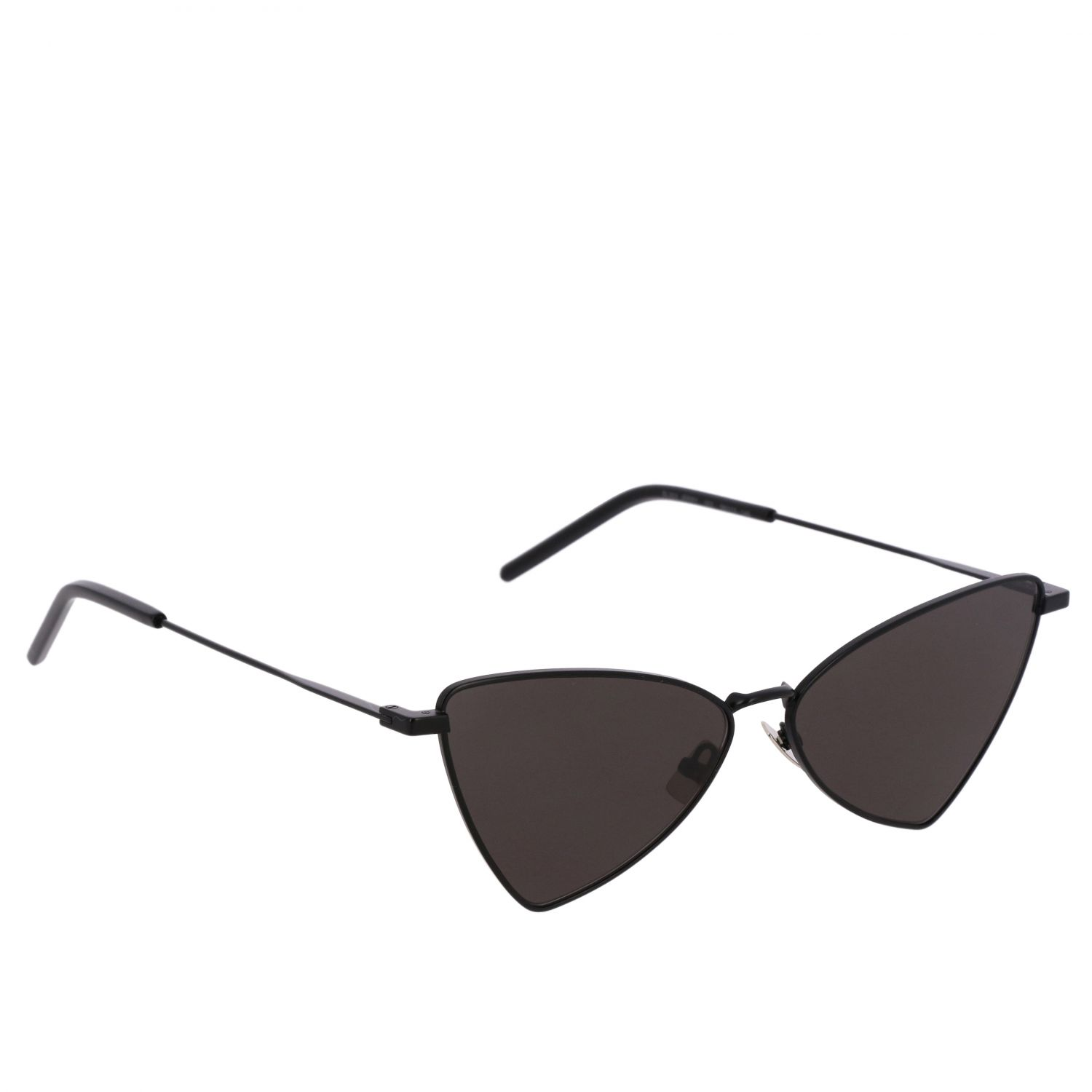 Brille Saint Laurent: JERRY Saint Laurent Sonnenbrille in Metall Brücke 13 Auktion 145 schwarz 1