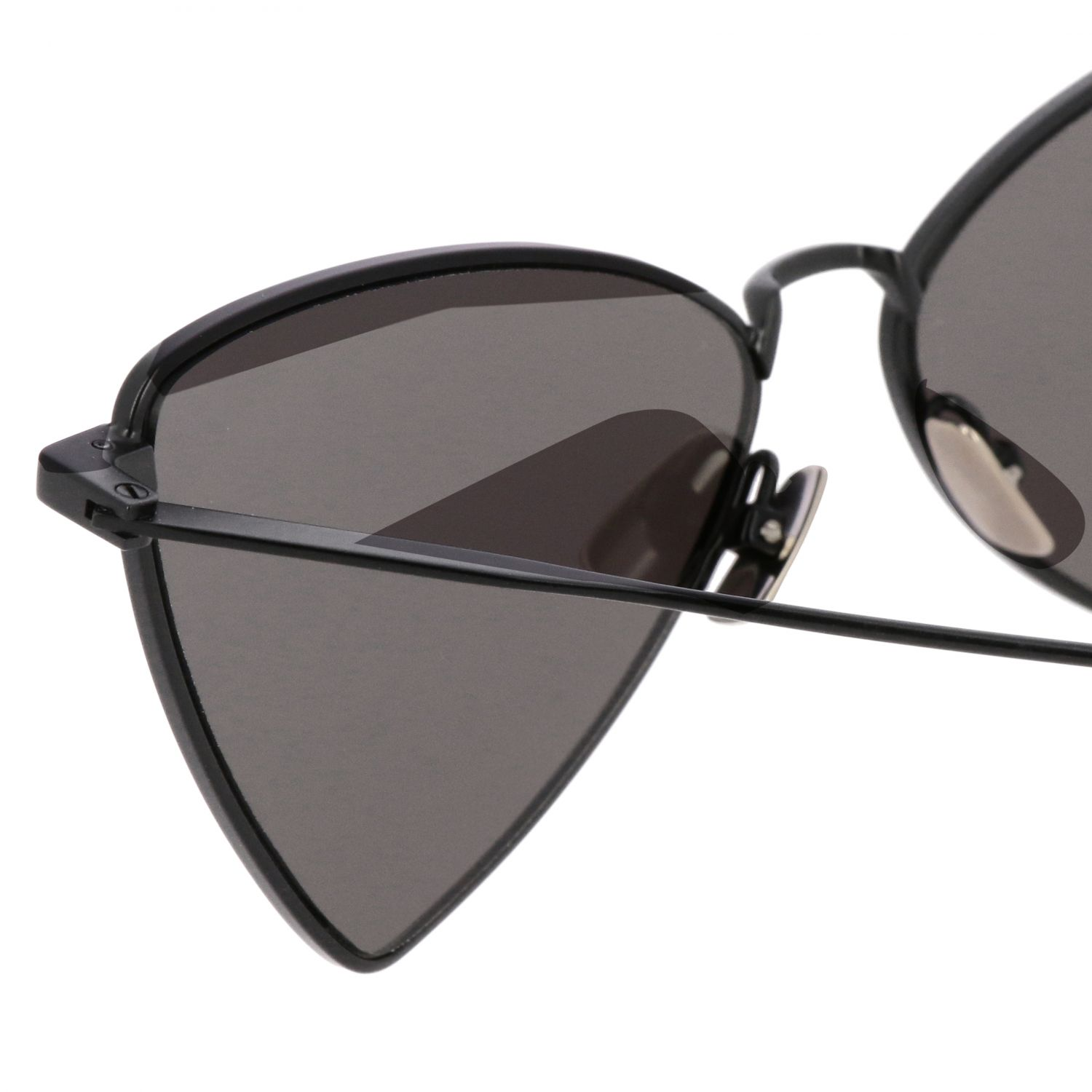 Brille Saint Laurent: JERRY Saint Laurent Sonnenbrille in Metall Brücke 13 Auktion 145 schwarz 3