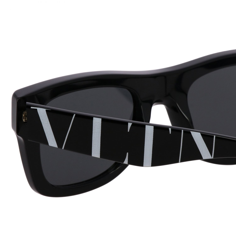 4045 Valentino Sonnenbrille in Acetat Nasensteg 22 Bügel 145 schwarz 3