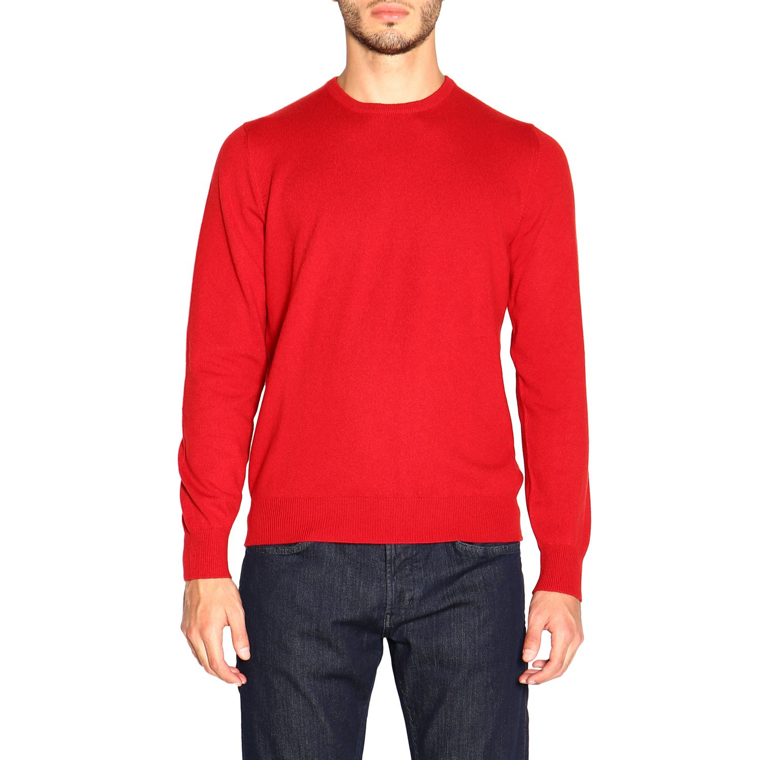 Sweater Barba Napoli: Sweater men Barba Napoli red 1
