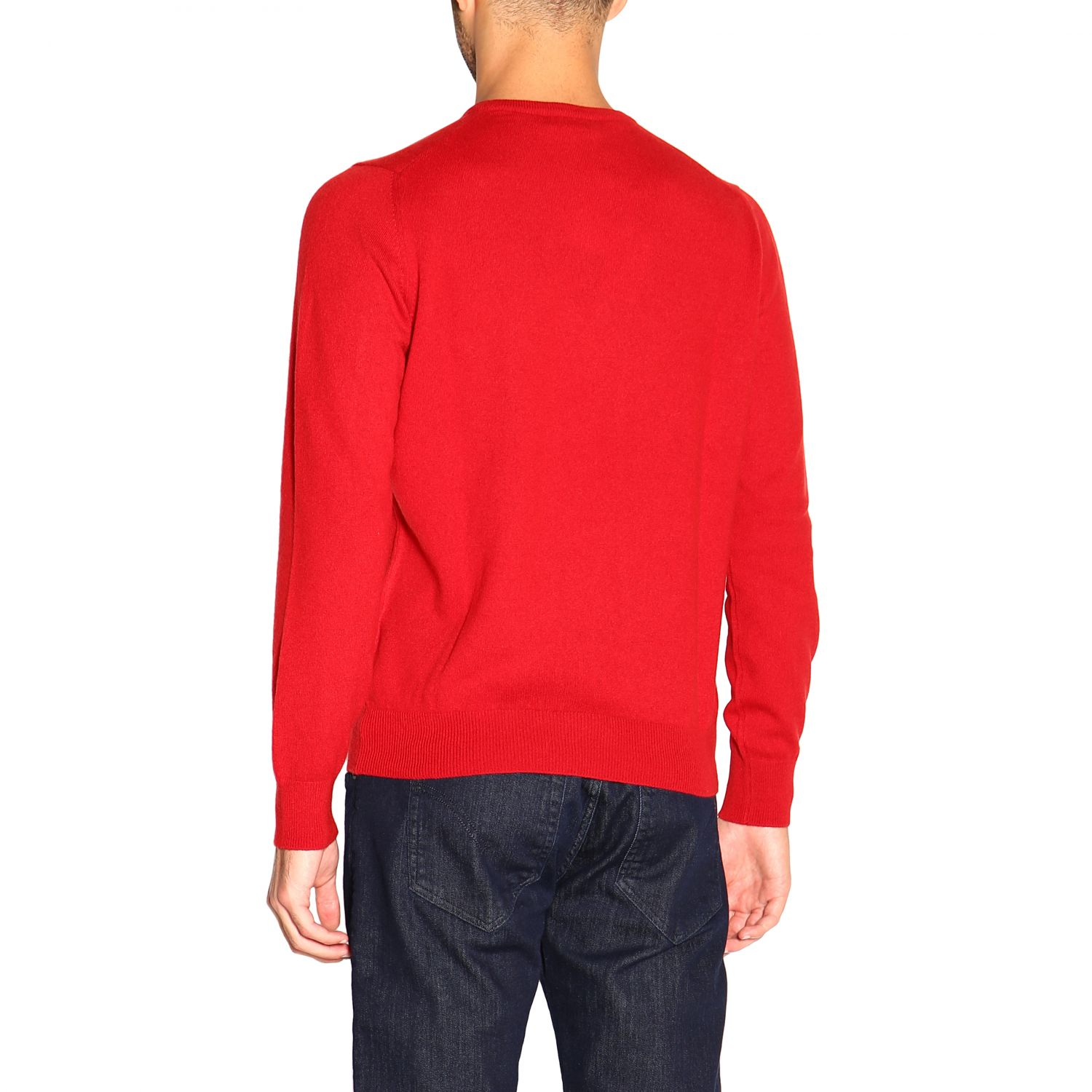 Sweater Barba Napoli: Sweater men Barba Napoli red 3