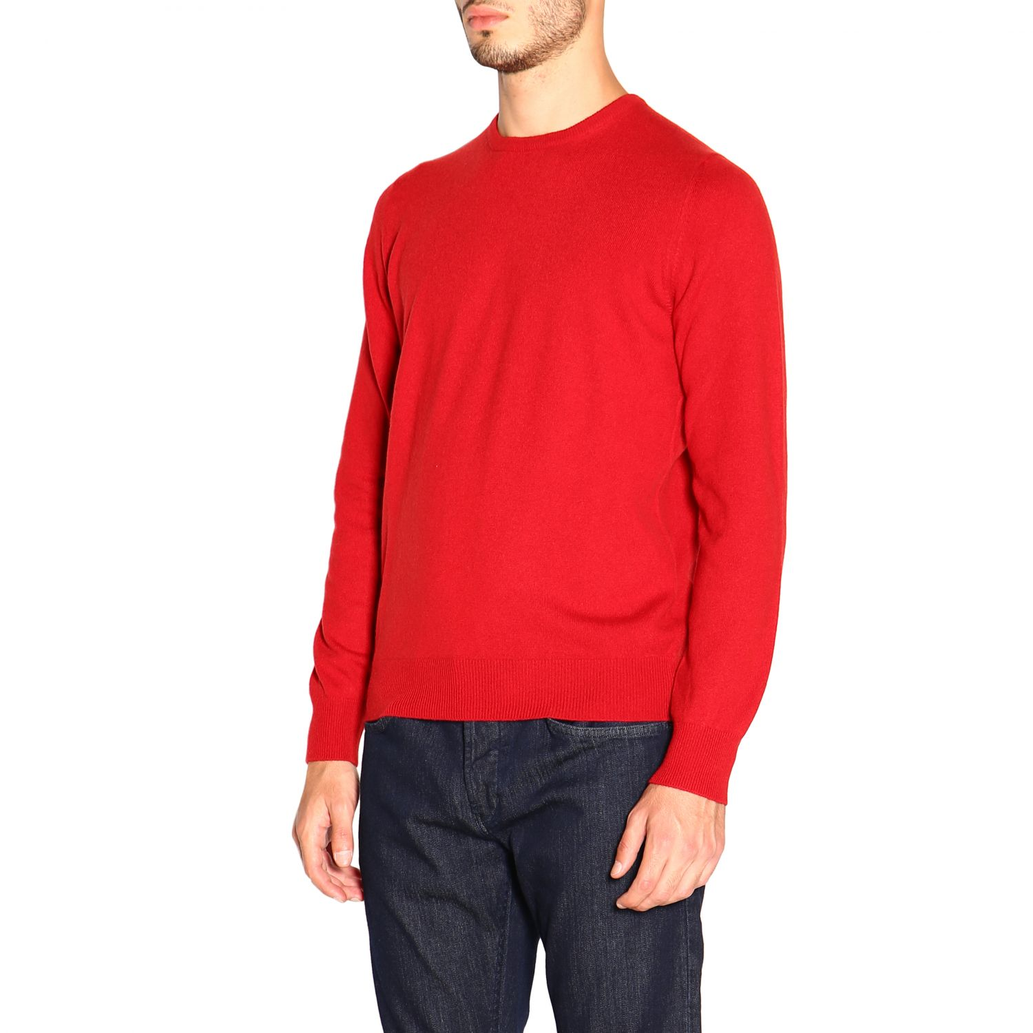 Sweater Barba Napoli: Sweater men Barba Napoli red 4