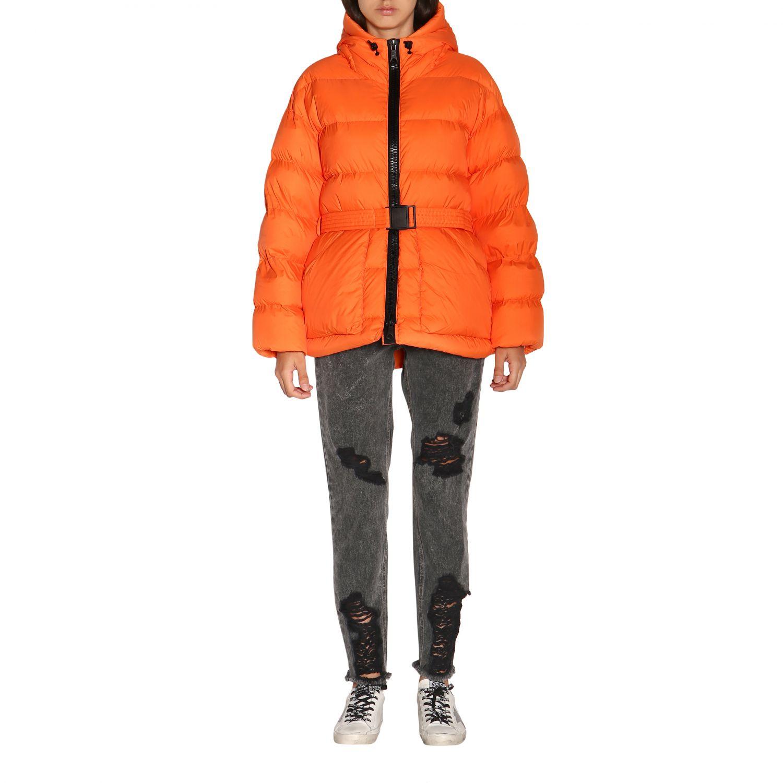 Manteau femme Ienki Ienki orange 1