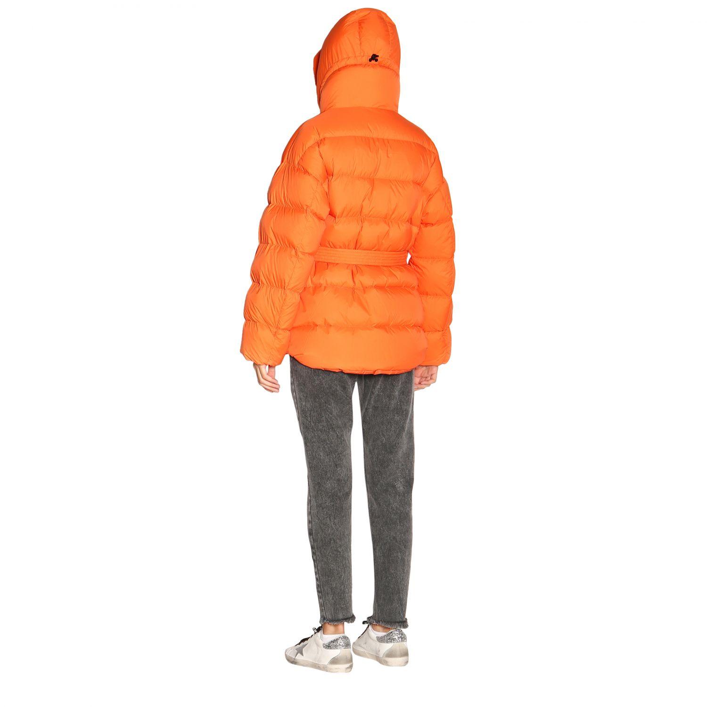 Manteau femme Ienki Ienki orange 3