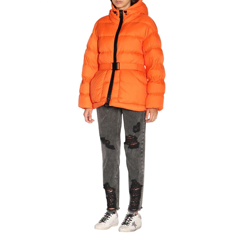 Manteau femme Ienki Ienki orange 4
