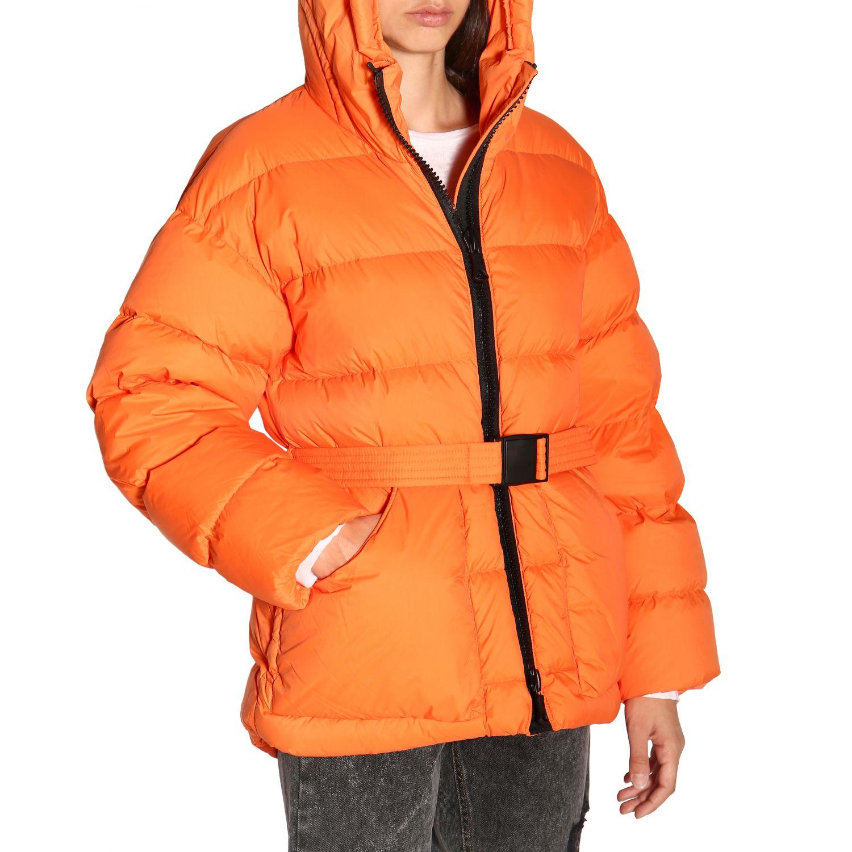 Manteau femme Ienki Ienki orange 5