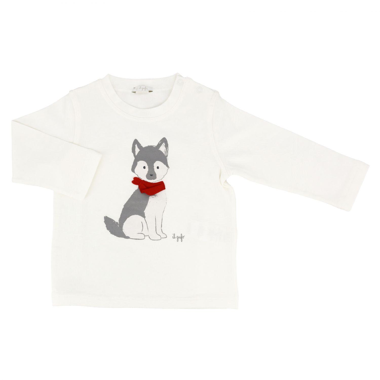 Sweater kids Il Gufo milk 1