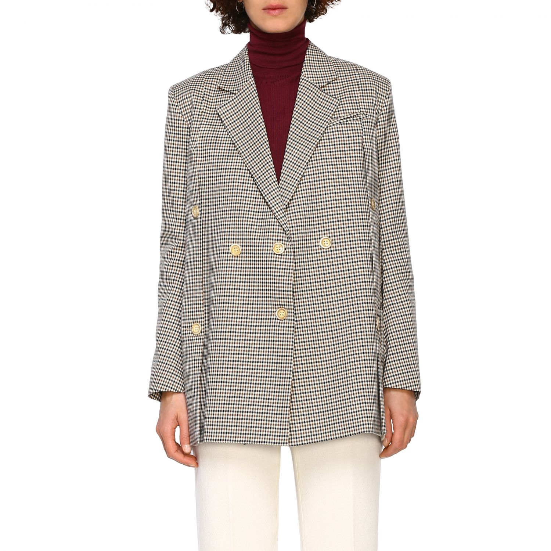 Jacket women Eudon Choi brown 1