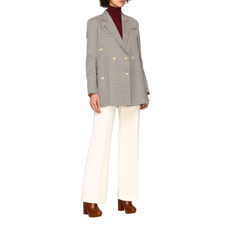 Jacket women Eudon Choi brown 2