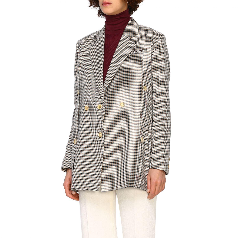 Jacket women Eudon Choi brown 4