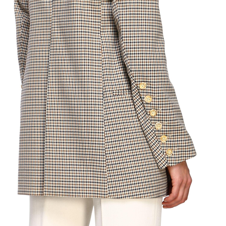 Jacket women Eudon Choi brown 5