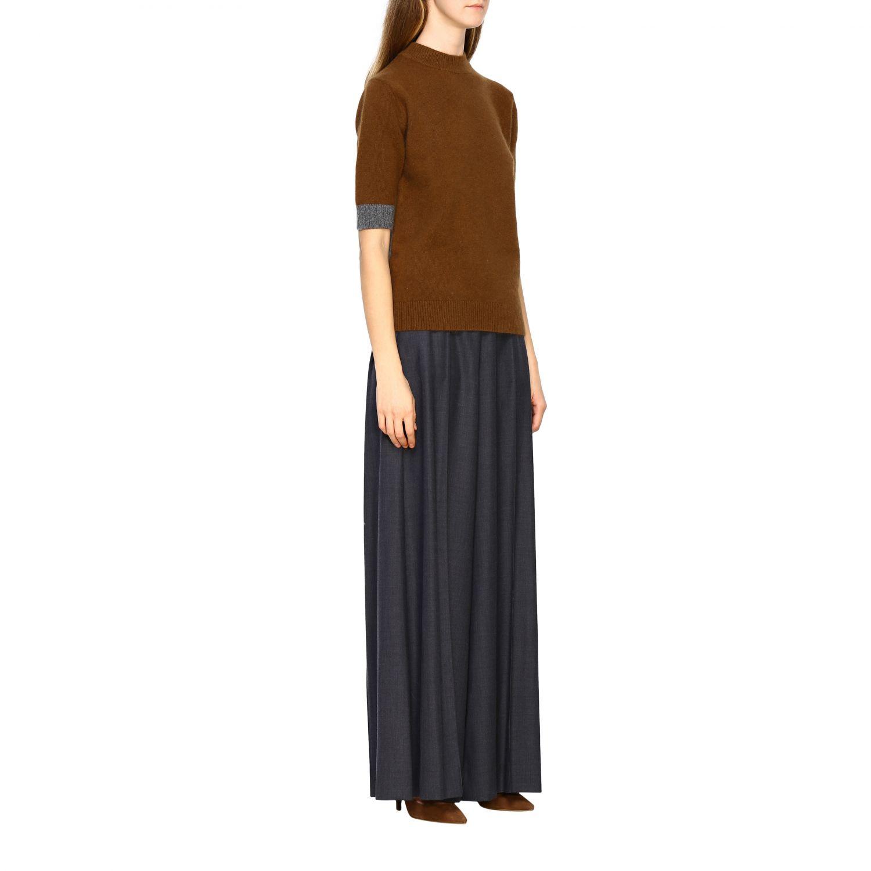 Jersey mujer Eudon Choi marrón 2
