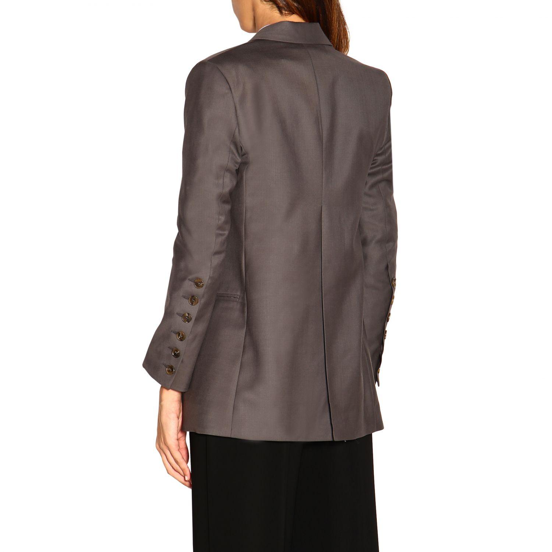 Veste femme Eudon Choi gris 3