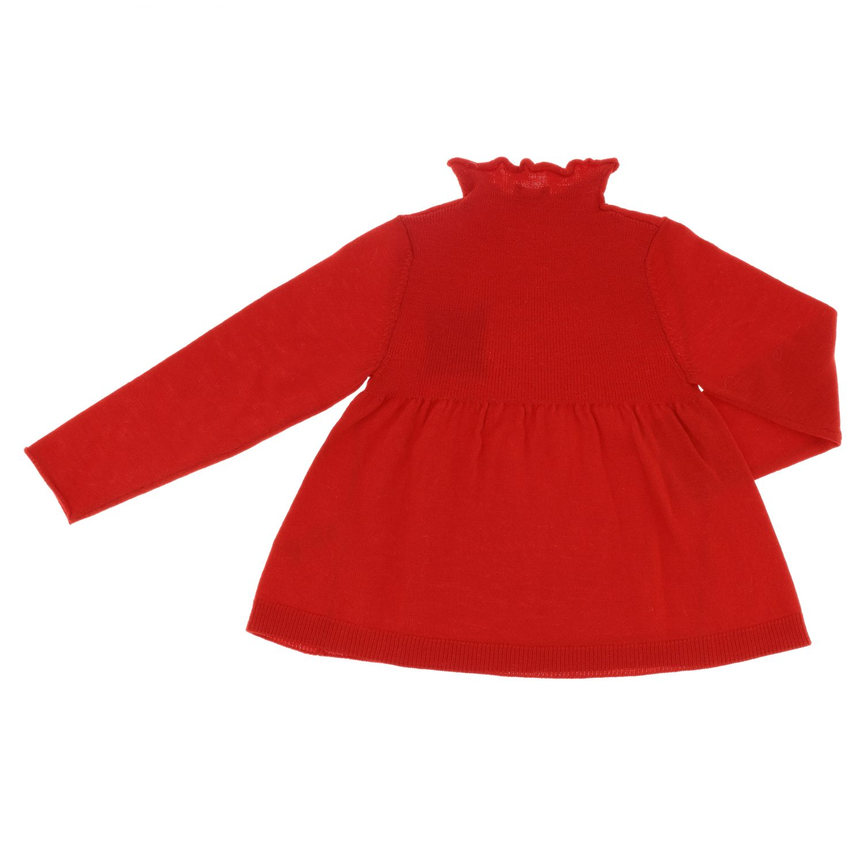Sweater kids Il Gufo red 2