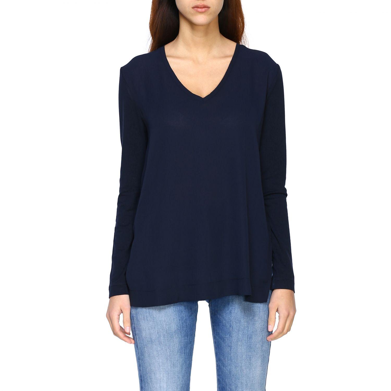 Jumper Alpha Studio: T-shirt women Alpha Studio blue 1