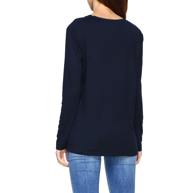 Jumper Alpha Studio: T-shirt women Alpha Studio blue 3