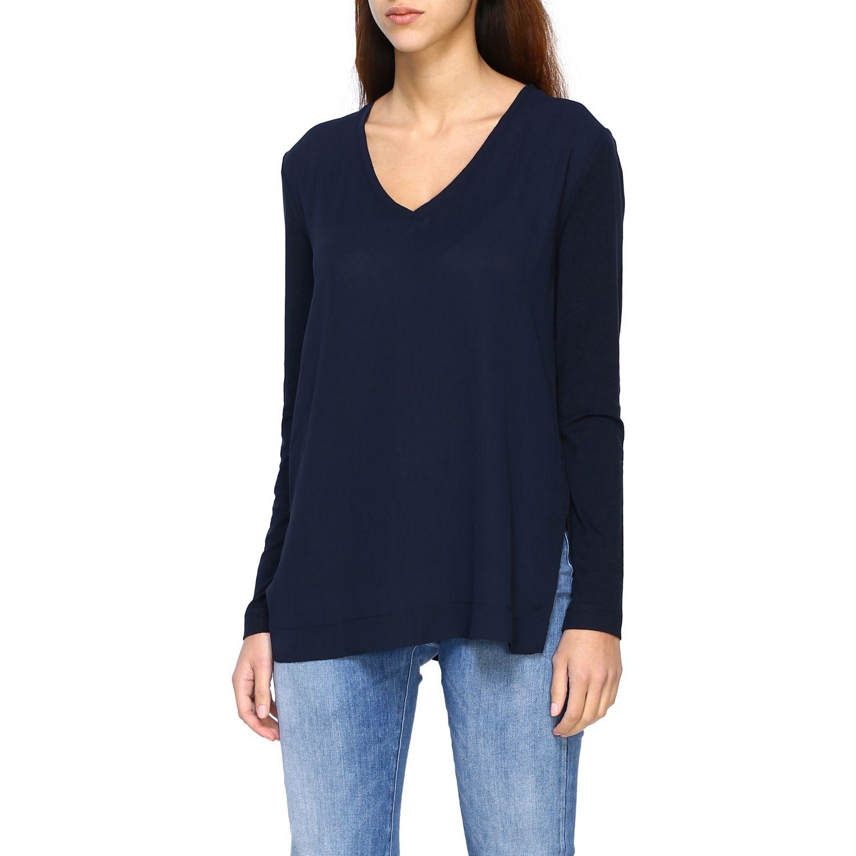 Jumper Alpha Studio: T-shirt women Alpha Studio blue 4