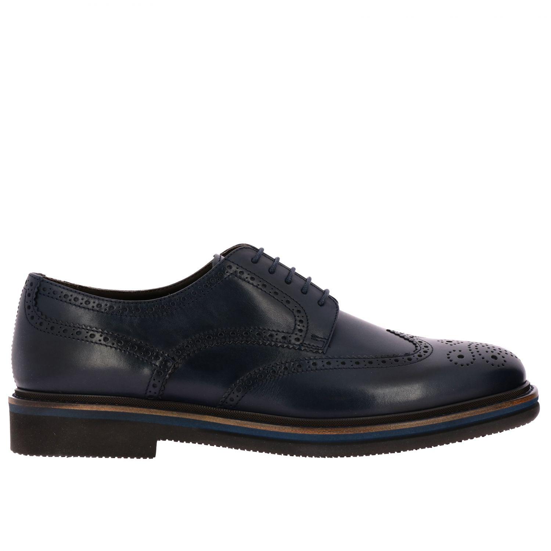 Brogue shoes men F.lli Rossetti marine 1