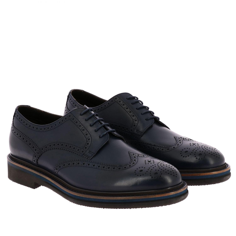 Brogue shoes men F.lli Rossetti marine 2
