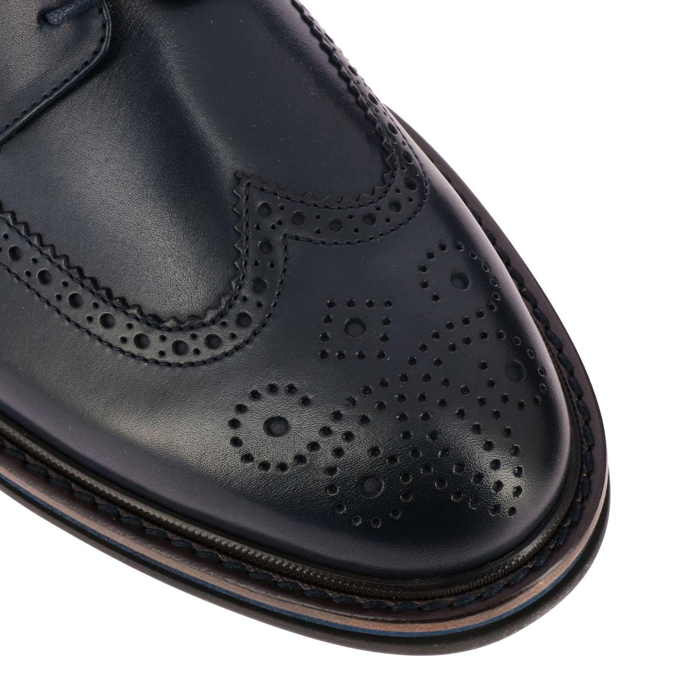 Brogue shoes men F.lli Rossetti marine 4